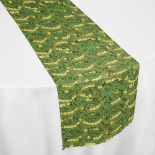 Apple Green Blitz Table Runner