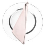 Ballet Slipper Pink Duchess Satin Napkin
