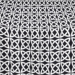 Black Celtic Table Linen