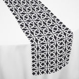 Black Celtic Table Runner