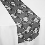 Black Lailah Table Runner