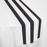 Black Nautical Table Runner