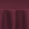 Burgundy Duchess Satin Table Linen