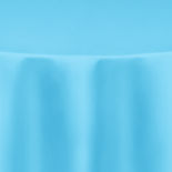 Capri Turquoise Duchess Satin Table Linen