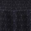 Black Crinkle Taffeta Table Linen By Chair Covers Amp Linens