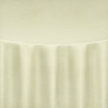 Ivory Faux Dupioni Table Linen