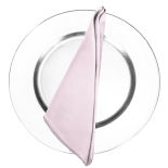 Powder Puff Pink Duchess Satin Napkin