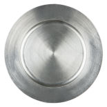 Silver Basic Acrylic Charger Plate