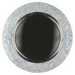 Silver Celebrity Metal Charger Plate