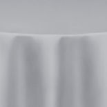 Silver Duchess Satin Table Linen