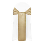 Victorian Gold Duchess Satin Sash