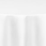 White Duchess Satin Table Linen