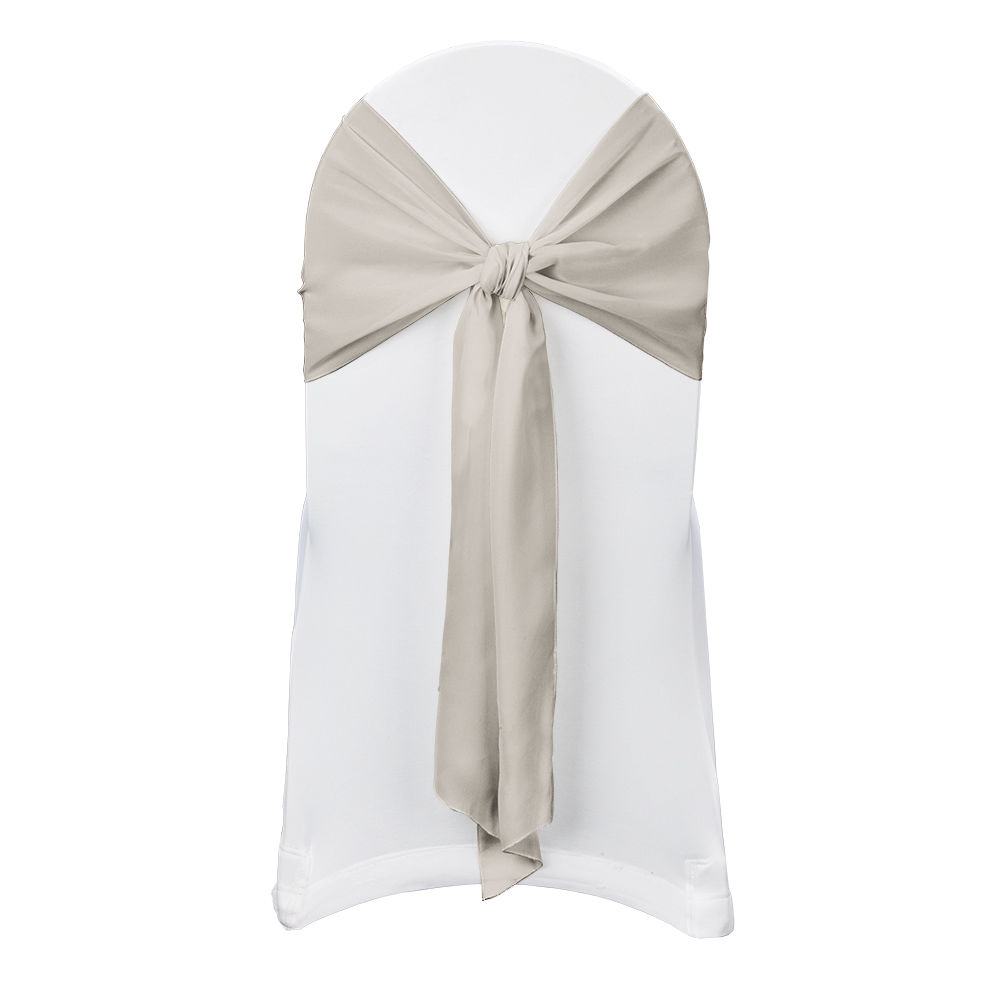 antique gold chiffon sash by chair covers linens