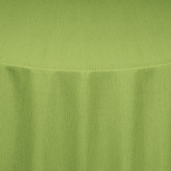 Apple Green Bengaline Moire Table Linen