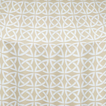 Beige Celtic Table Linen