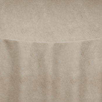 Beige Velvet Table Linen