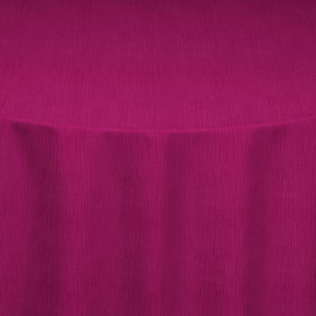 Berry Crinkle Taffeta Table Linen