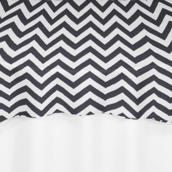 Black Chevron Overlay