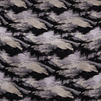 Black Oceana Table Linen