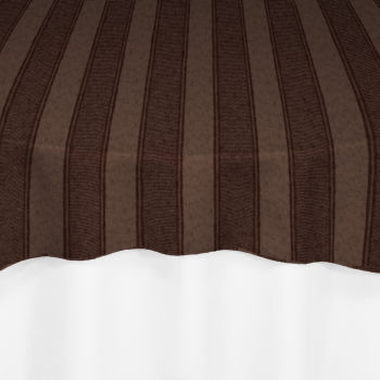 brown rugby damask overlay by chair covers linens