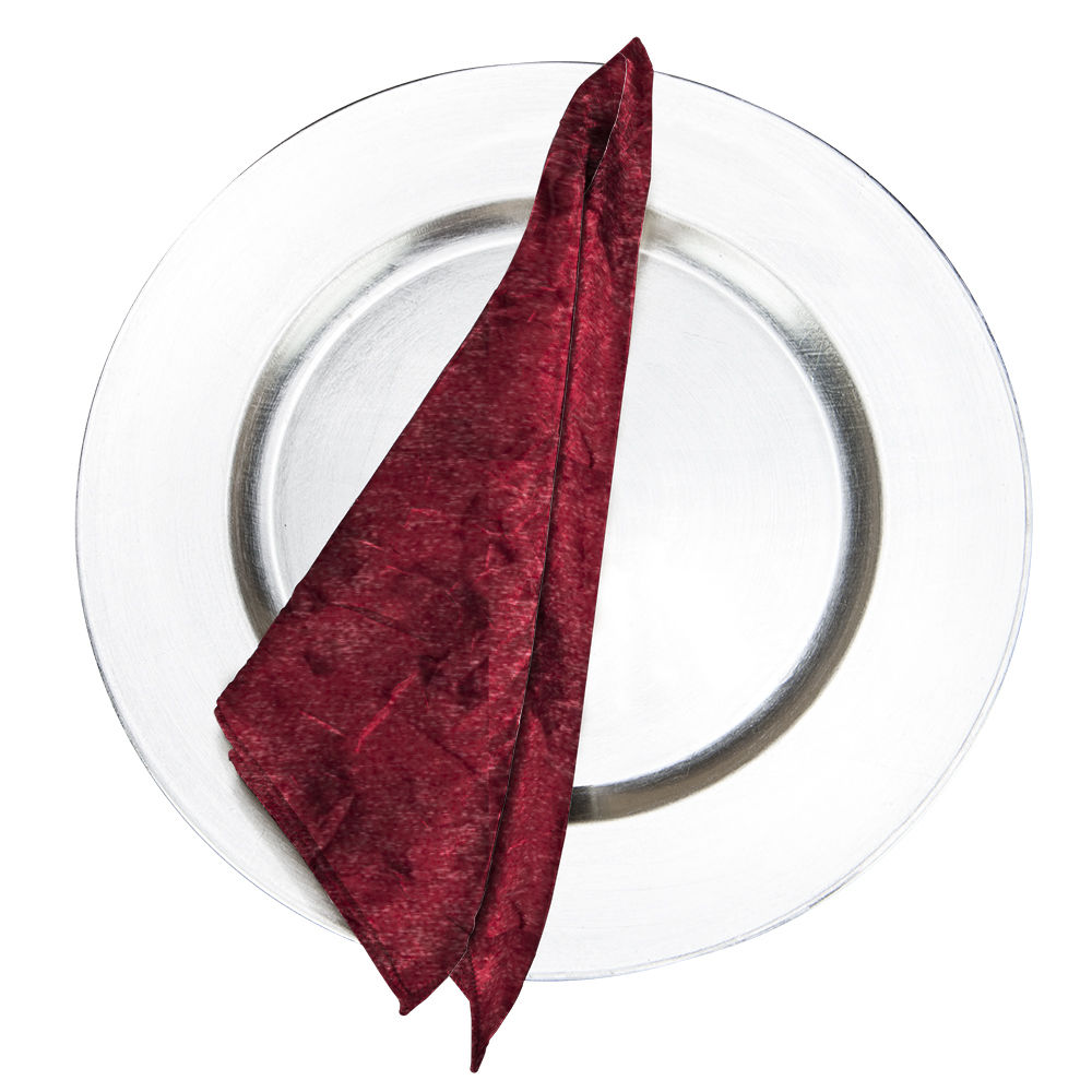 Burgundy Galaxy Napkin