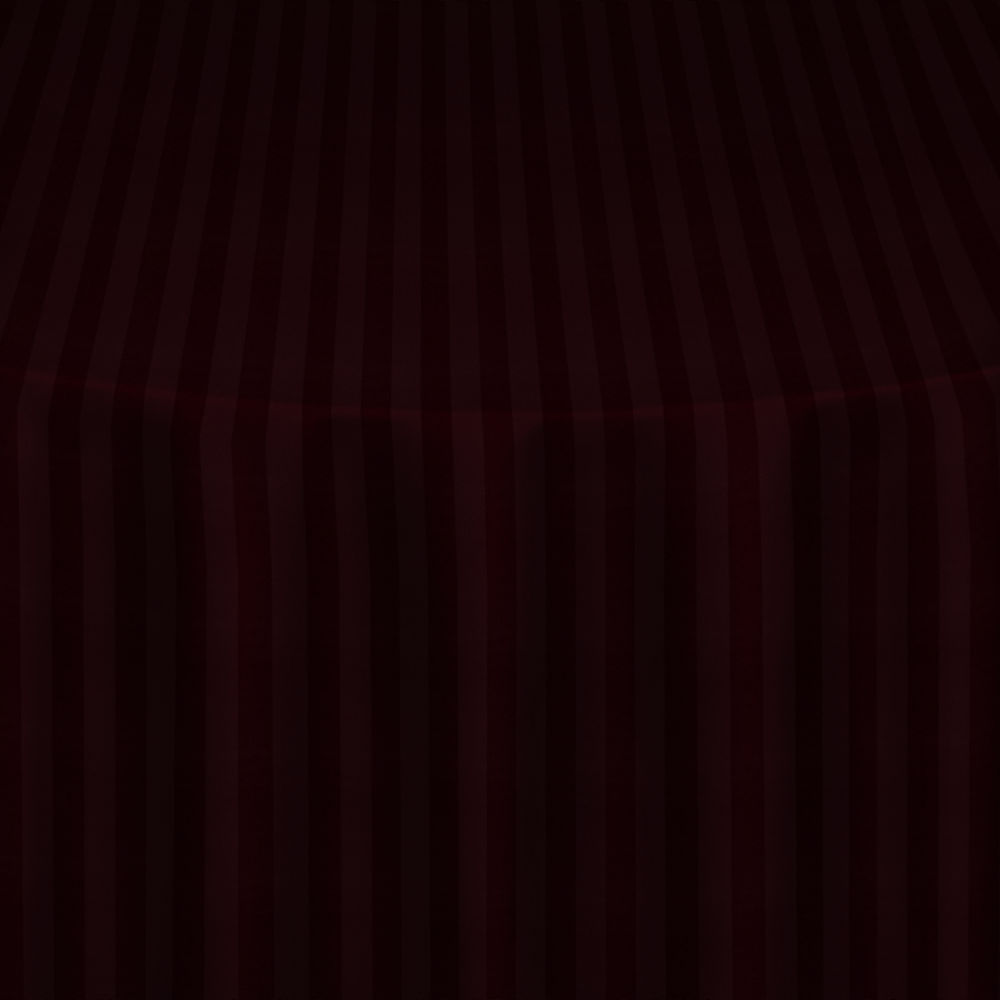Burgundy Satin Stripe Table Linen