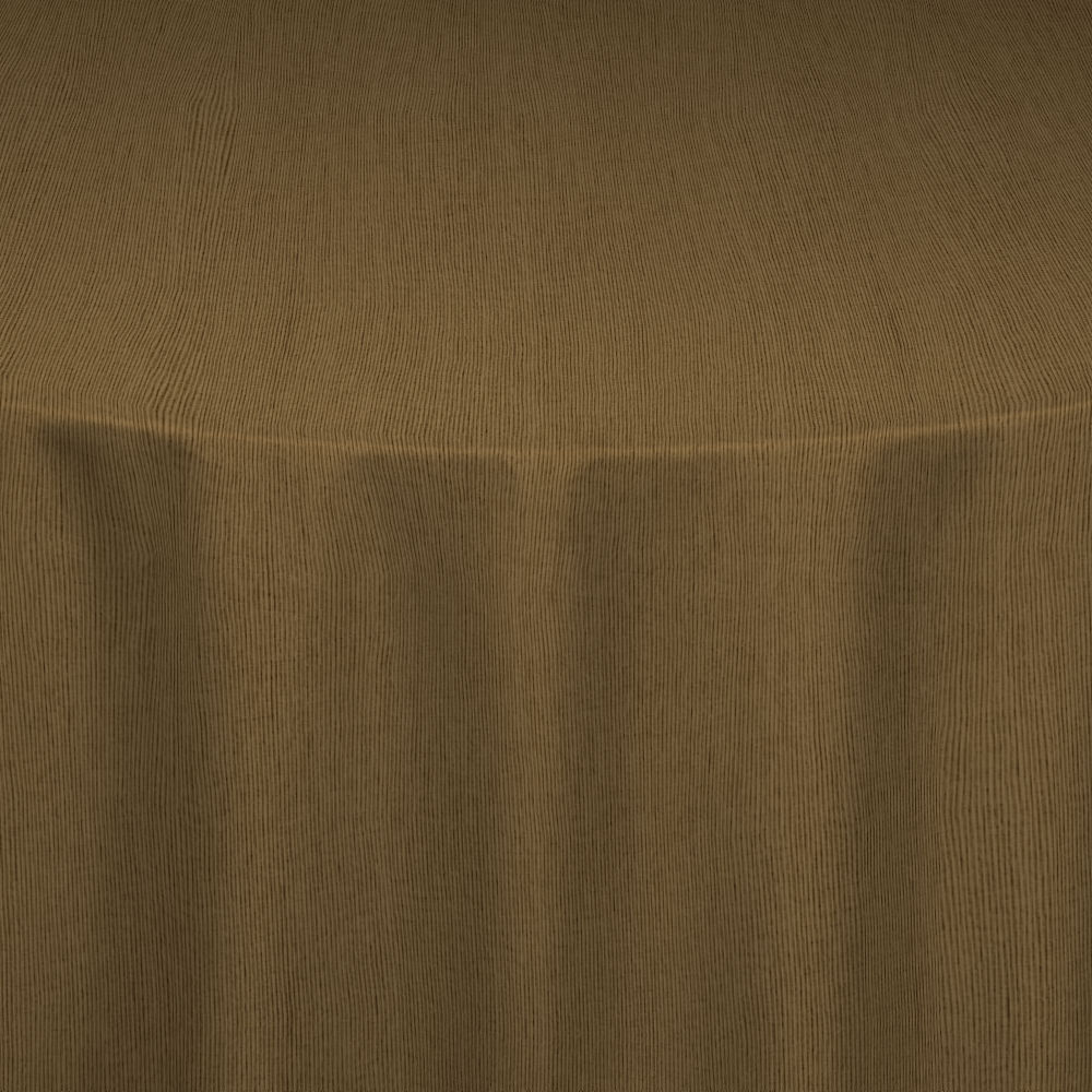 Burnished Gold Bengaline Moire Table Linen