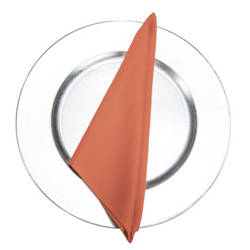 Burnt Orange Classic Linen Napkin
