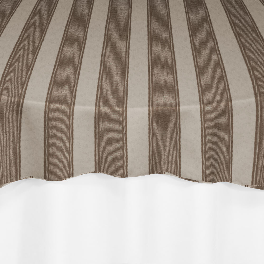Cappuccino Rugby Damask Overlay