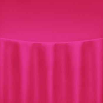 Cerise Duchess Satin Table Linen