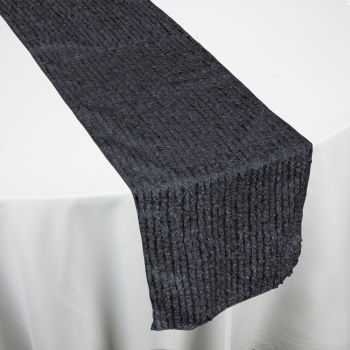 Charcoal FunFetti Table Runner