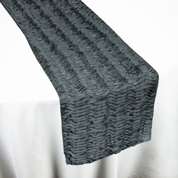 Charcoal Swagger Table Runner