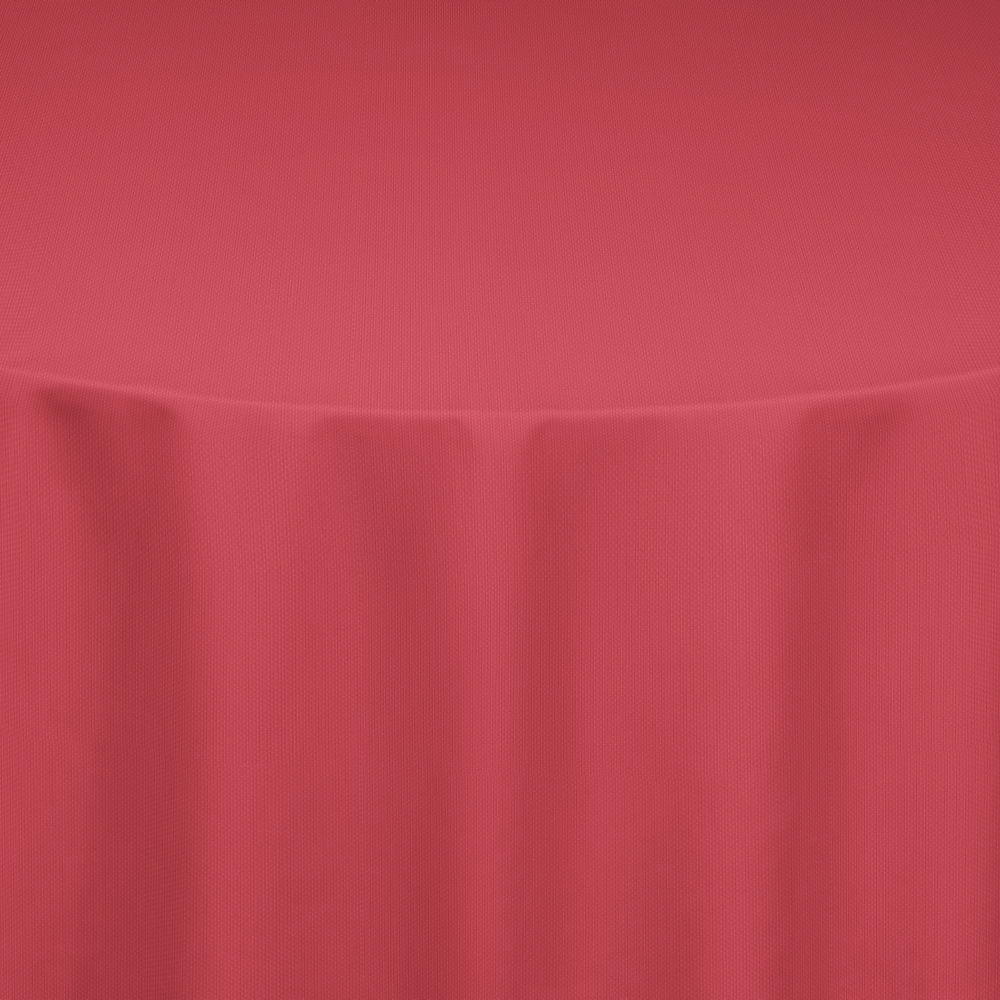 Cherry Red Classic Linen Table Linen