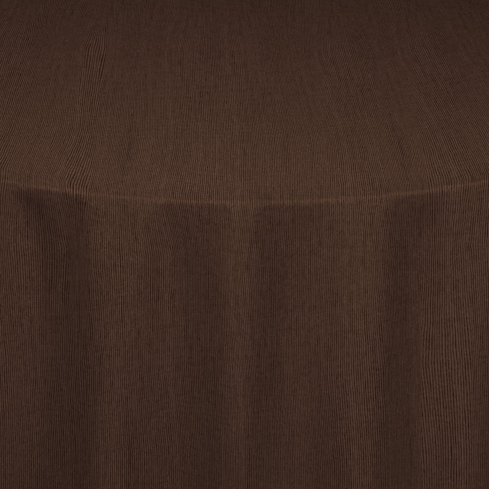 Chocolate Bengaline Moire Table Linen