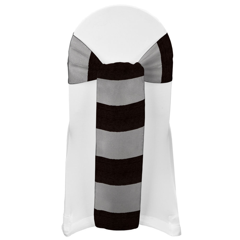 Chocolate Eternity Stripe Sash
