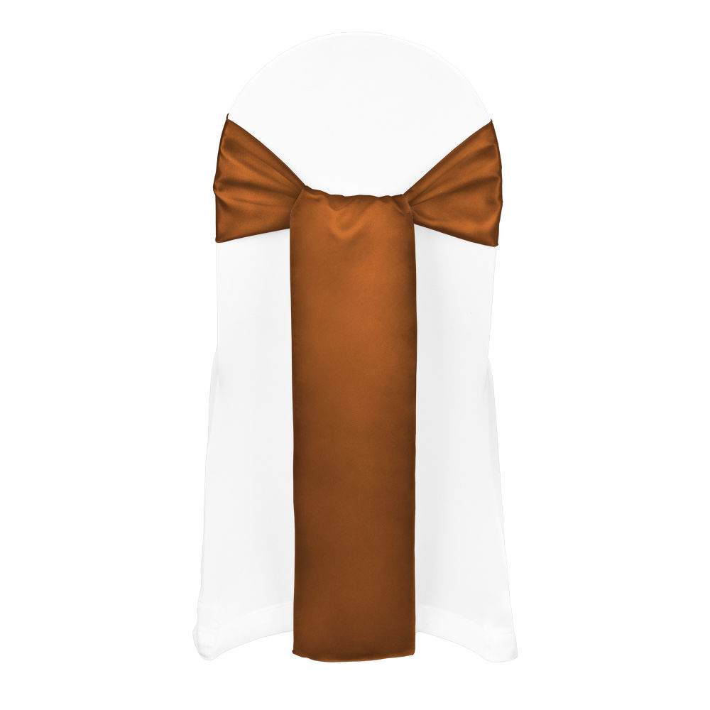 Copper Duchess Satin Sash