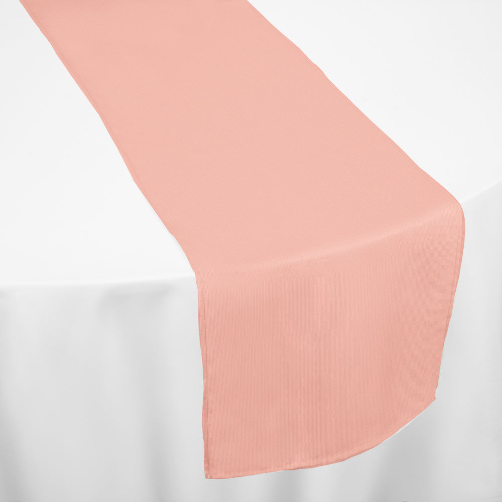 Coral Classic Linen Table Runner