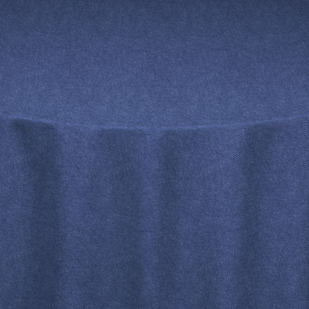 Dark Blue Faux Denim Table Linen