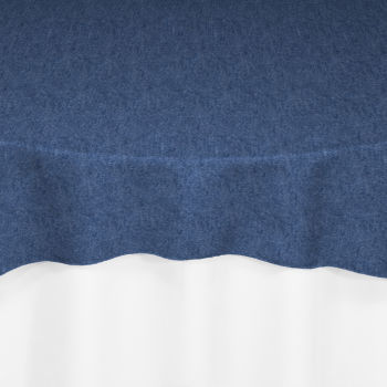 Well known Dark Blue Denim Overlay by Chair Covers & Linens VH32