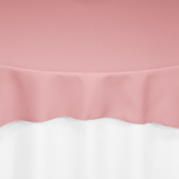 Dusty Rose Classic Linen Overlay