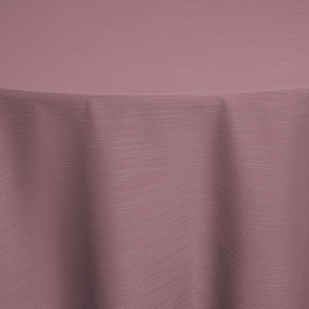 Dusty Rose Faille Table Linen