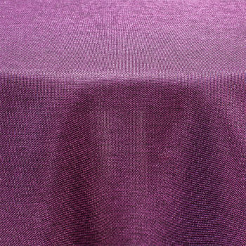 Eggplant Western Table Linen