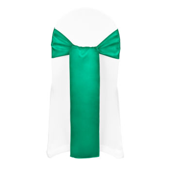 Emerald Duchess Satin Sash