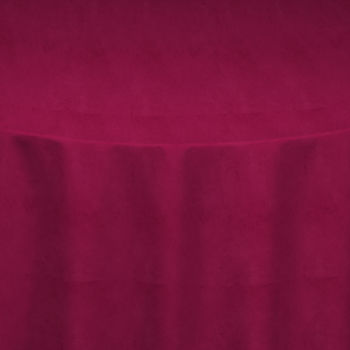 Fuchsia Velvet Table Linen