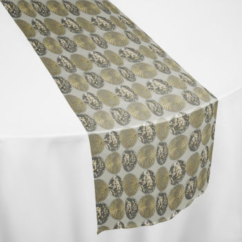 Gold Faberge Table Runner