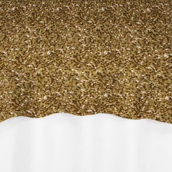 Gold Hollywood Sequin Overlay