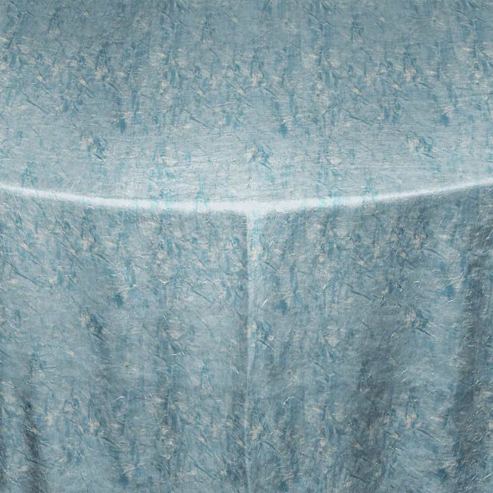 Gold Turquoise Galaxy Table Linen