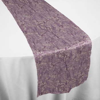 Gold Violet Galaxy Table Runner