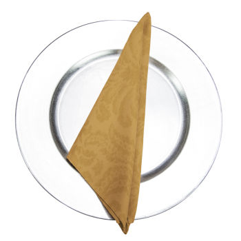 Gold Wellington Damask Napkin