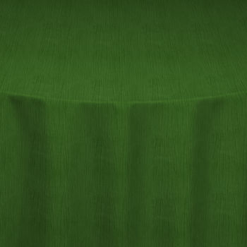 Green Crinkle Taffeta Table Linen